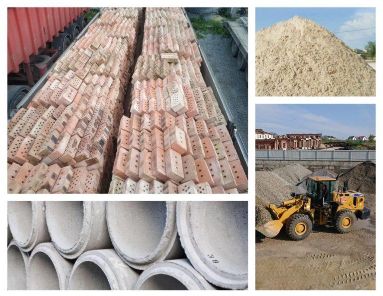 цегла, щебінь, бутовий камінь, фундаментні блоки, бетонні кільця тернопіль